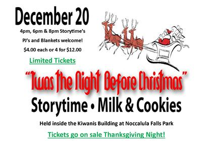 Storytime with Milk and Cookies